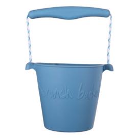 Scrunch | Bucket | Twilight Blue
