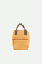 Sticky Lemon | Backpack Small | Wanderer | Retro Yellow + Seventies Green + Faded Orange