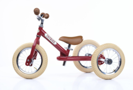 Trybike | Steel Vintage 2 in 1 | Ruby Red