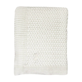 Mies & Co | Soft knitted blanket cradle | Off white