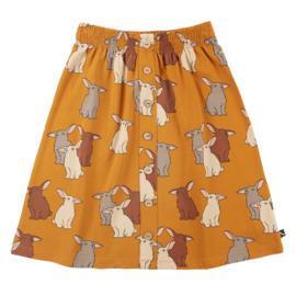 CarlijnQ | Rabbits | Midi Skirt with Pockets