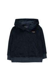 Tiny Cottons | Pretzel Ride Hoody Sweatshirt | Navy - Camel