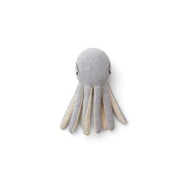 Liewood | Ole Knit Mini Teddy | Octopus | Grey Gelange