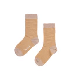 Phil & Phae | Striped Socks | Golden Stripe