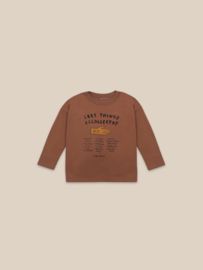BoboChoses | Lost Thing Recollector Long Sleeve T-Shirt | Caramel Café