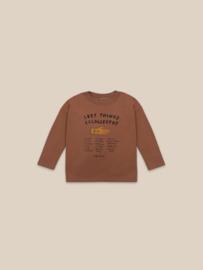 BoboChoses | Lost Thing Recollector Long Sleeve T-Shirt | Caramel Café