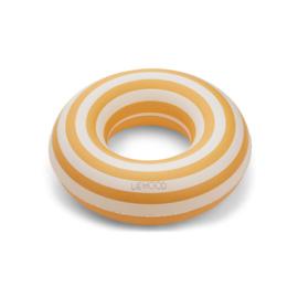 Liewood | Baloo Swim Ring | Stripe | Yellow Mellow - Creme De La Creme