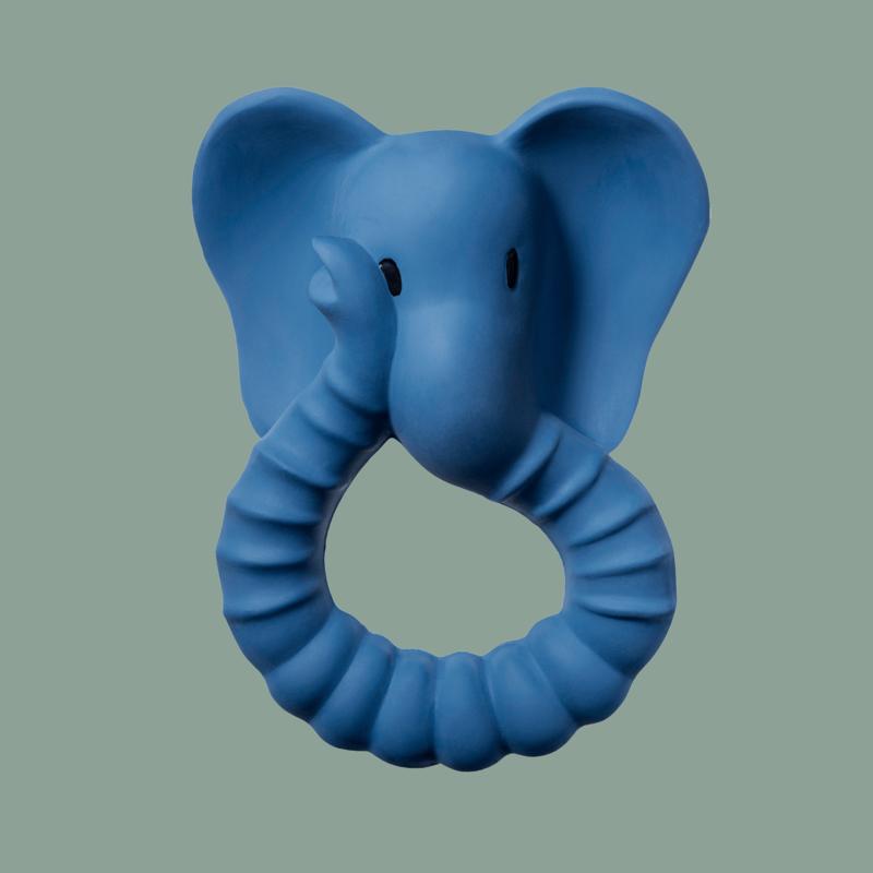 Natruba | Teether Elephant Blue