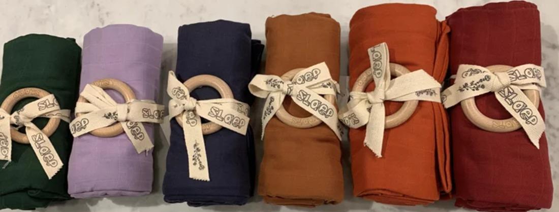 Swaddles en hydrofiele doeken