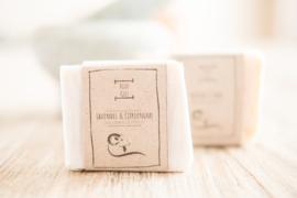 BLIJE GEIT - Geitenmelkzeep Lavendel/Citroengras 100 gr