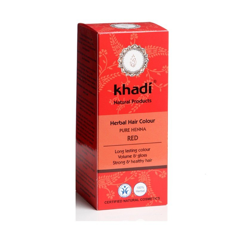 KHADI Herbal Hair Colour RED Pure Henna