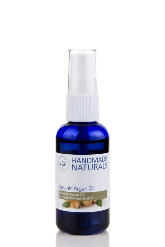 HANDMADE NATURALS - Pure Organic Argan Oil 50 ml.
