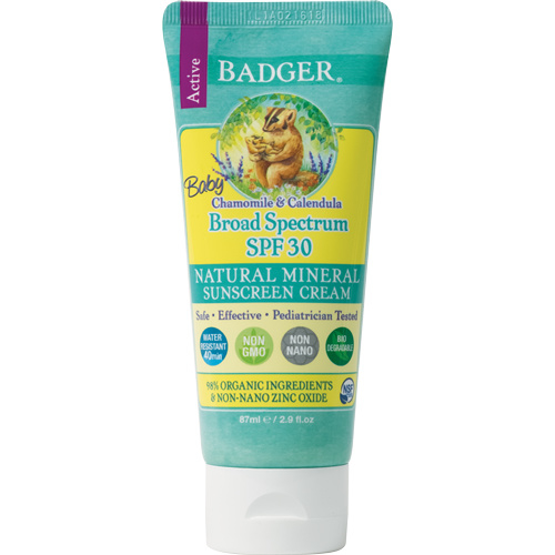 Baby Zinc Oxide Sunscreen Unscented SPF 30