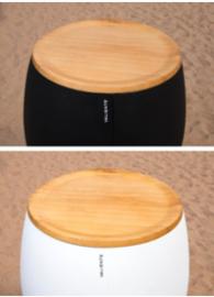Classic ICE Bucket - houten top dicht