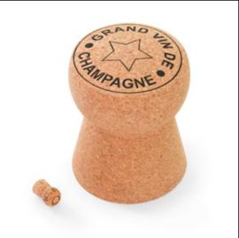 Champagne kurk doorstop of als kruk voor kleine kinderen
