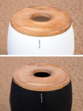 Classic ICE Bucket - houten top open