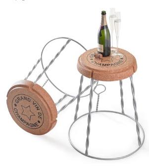 Muselet Champagne kurk - zilver draad