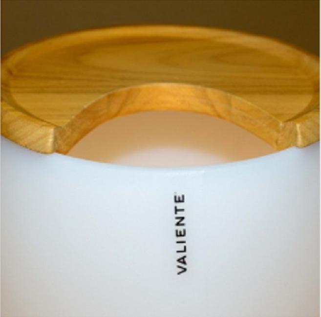 Baby ICE Bucket - houten top deels open