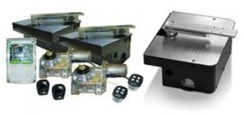 Ditec Cubic set ondergrondse motoren en sturing