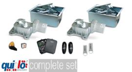 Quiko sub ondergrondse motoren, professional, complete set.