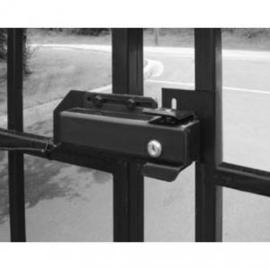 elektrisch poortslot 24v dc K40 gegalvaniseerd en vorstvast. op elke poort toepasbaar.