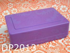 DBP broodtrommel/lunchbox paars