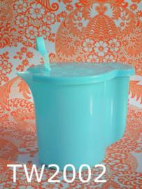 Tupperware strooier/melkkan XL 'Sixties' blauw