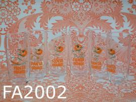 Fanta Orange glazen 'Sixties' glas (set van 6)