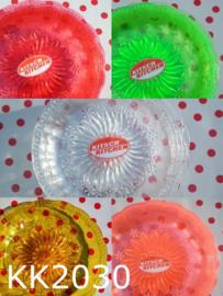 Kitsch Kitchen gebakbordjes (set van 5) assorti