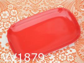 Thais melamine serveerschaaltje rood