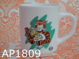 Arcopal beker 'Esso' tijger