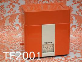 Tefal keukenweegschaal 'Seventies' oranje
