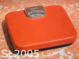 Soehnle personenweegschaal 'Seventies' oranje