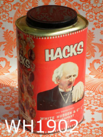 White Hudson & Co hoestpastilles Hacks blik
