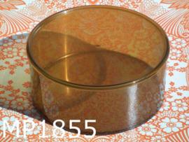 Mepal koektrommel transparant (186) amber
