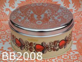 Brabantia koektrommel 'Seventies' bloemen