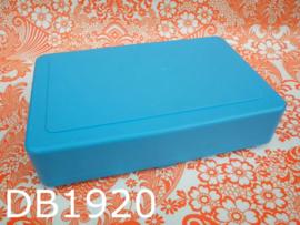 DBP broodtrommel/lunchbox blauw
