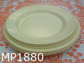 Mepal borden D235 zachtgeel 'Sixties' (set van 6)