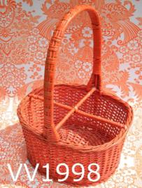 Flessenmand/flessendrager pitriet 'Seventies' oranje