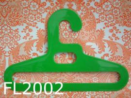 Flair kledinghanger/kleerhanger 'Seventies' groen