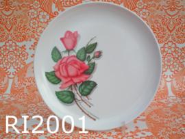 Royalon Inc. USA melamine plat bord 'Rose'
