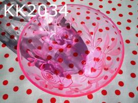 Schaaltje 'Rosa' roze
