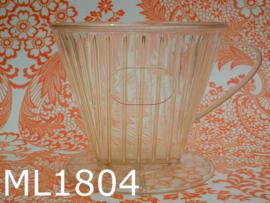 Melitta koffiefilterhouder (102) transparant