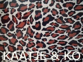 Tafelkleed Mexicaans tafelzeil  2 meter 'Jaguar'