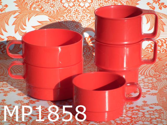 hete verkoop online groot assortiment beter Mepal bekers/kopjes 'Eighties' (set van 5) rood | M E P A L ...