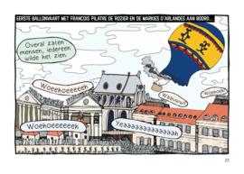 Stripboek - Zoektocht naar de Zeppelin