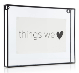 Vt Wonen - Photo frame - metal black - 34 x 25 cm