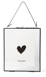 Vt wonen - Photo frame - Metal with lock - Black
