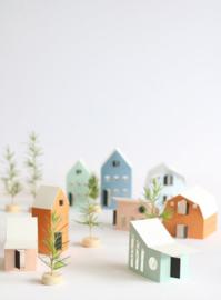 Jurianne Matter - huisjes - Heim - 12 stuks