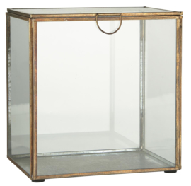 Ib Laursen - Box van glas - W: 13,5 H: 19,5 L: 18,5